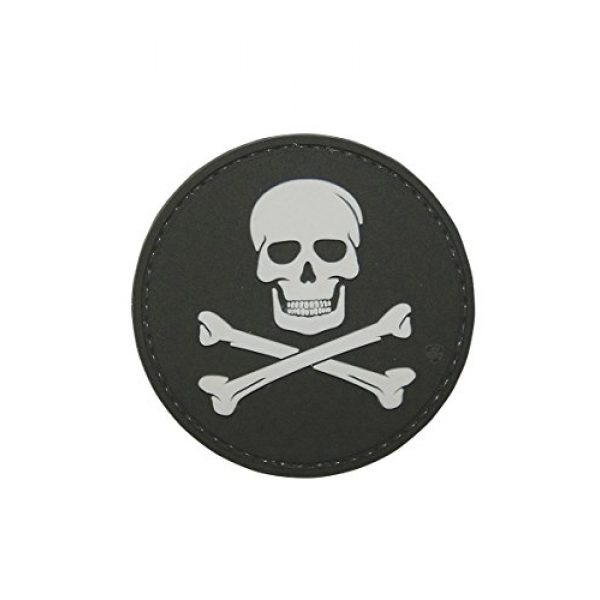 5ive Star Gear Airsoft Morale Patch 1 5ive Star Gear Jolly Roger Morale Patch, Multi-Color, One Size