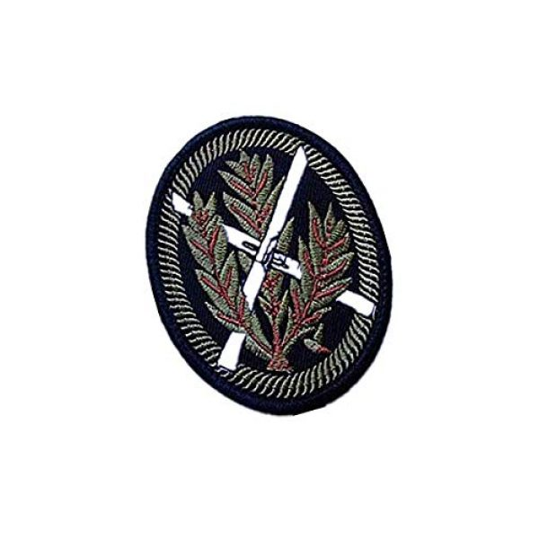 Embroidery Patch Airsoft Morale Patch 2 WWII German WH SNOWFIELD Rifleman Sniper Military Hook Loop Tactics Morale Embroidered Patch
