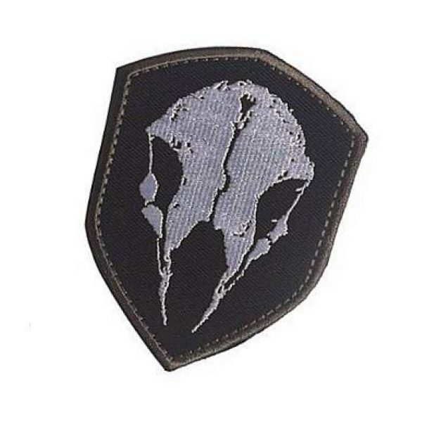 Embroidery Patch Airsoft Morale Patch 3 The Division Game LMB Skull Military Hook Loop Tactics Morale Embroidered Patch
