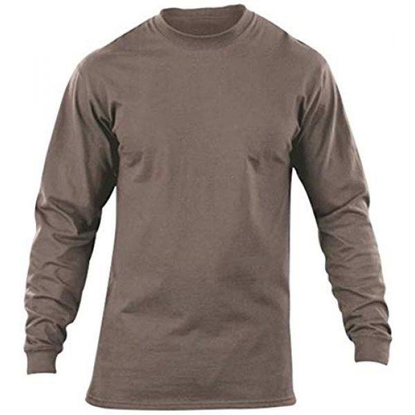 5.11 Tactical Shirt 1 5.11 Tactical Men's Station Wear Long Sleeve T Shirt, Crew Neck, Style 40052
