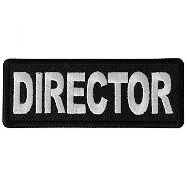 Ivamis Trading Airsoft Morale Patch 1 Director Patch - 4x1.5 inch - Embroidered Iron on Patch
