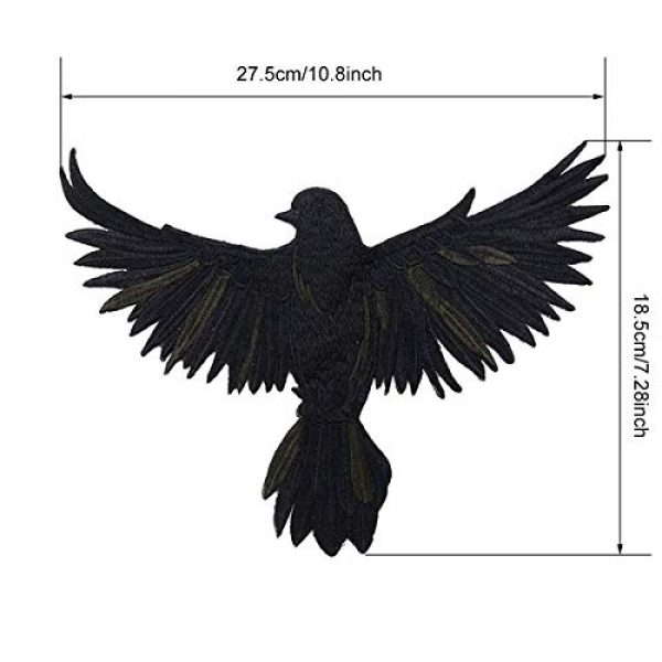 ZLYY Airsoft Morale Patch 3 Perfect Morale Eagle Embroidery Patch Design Jacket Patches Biker Iron Patch (Pink,White,Black)