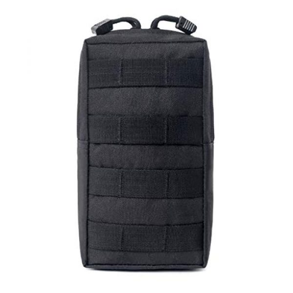 ASCOCO Tactical Pouch 1 ASCOCO Packs Tactical EDC Molle Pouch Tactical Waist Compact Organizer Gadget Gear Outdoor Pouch