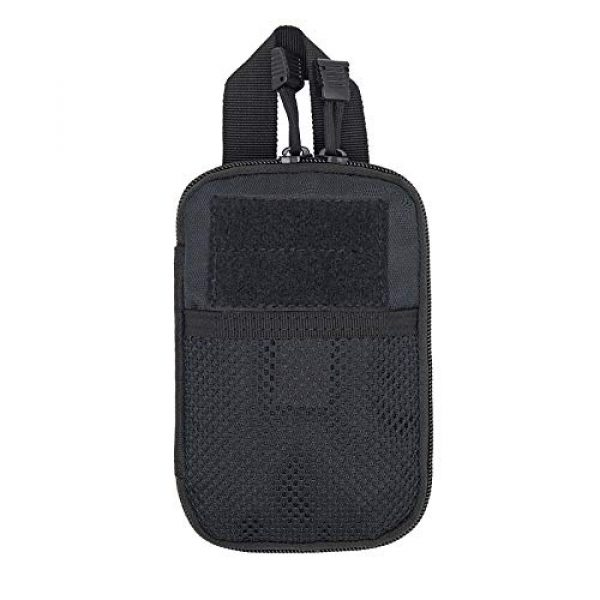 A0ZBZ Tactical Pouch 1 A0ZBZ Tactical Pouch Bag, Portable First Aid Pouch, Tactical Nylon Pouch Belt Bag for Outdoor Hiking Camping Trekking Hunting