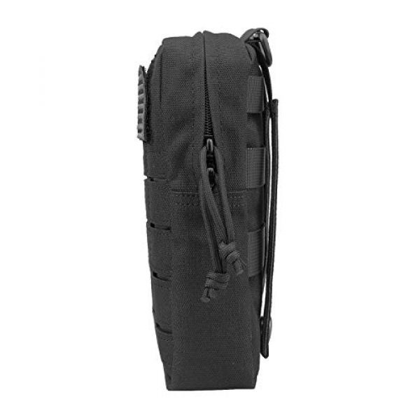 """AMYIPO Tactical Pouch 3 AMYIPO Molle Pouches 8""""x4.5"""" Multi-Purpose Tactical Compact Bags EDC Pouch"""
