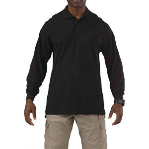 5.11 Tactical Shirt 1 5.11 Men's Tactical Long Sleeve Tall Professional Polo Shirt, Style 42056T