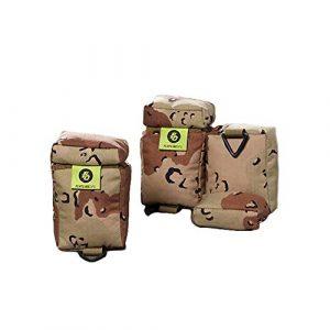 Flatline-Ops Shooting Bag 1 Flatline-Ops Dirt Bag Shooting Bag Polypropylene Rectangle Lightweight