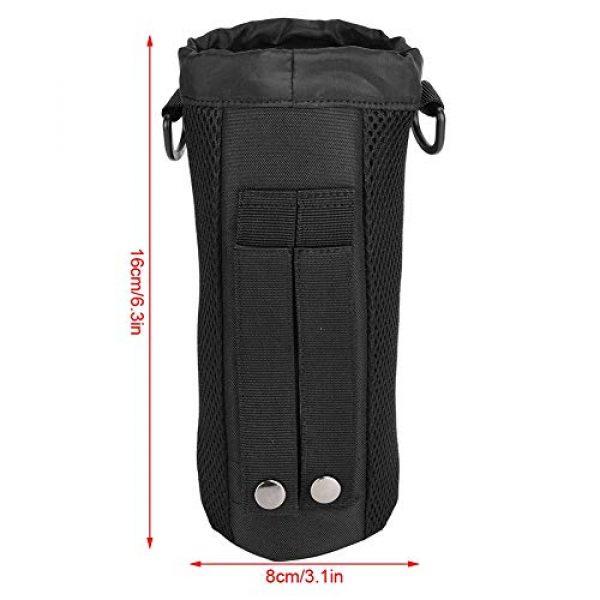 Alomejor Tactical Pouch 3 Alomejor Water Bottle Pouch Sport Water Bottle Kettle Bag with Adjustable Shoulder Strap for Camping Hiking Running