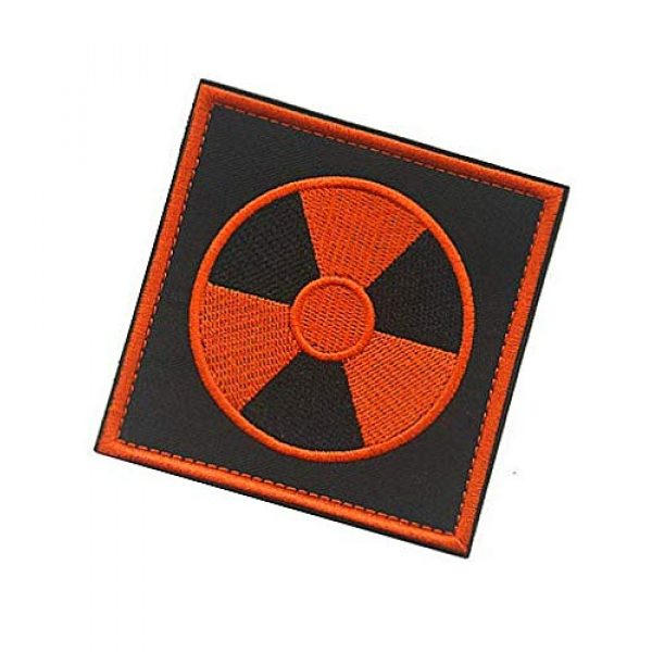Embroidery Patch Airsoft Morale Patch 3 Stalker S.T.A.L.K.E.R. Factions Loners Atomic Power Chernobyl Military Hook Loop Tactics Morale Embroidered Patch