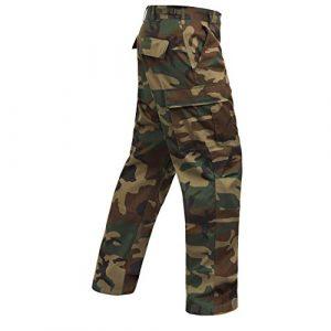 Rothco Tactical Pant 1 Camo Tactical BDU (Battle Dress Uniform) Military Cargo Pants