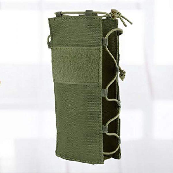 BESPORTBLE Tactical Pouch 2 BESPORTBLE Army Green Portable Outdoor Waist Pouch Sport Travel Elastic Water Bottle Bag Holder Kettle Carrier