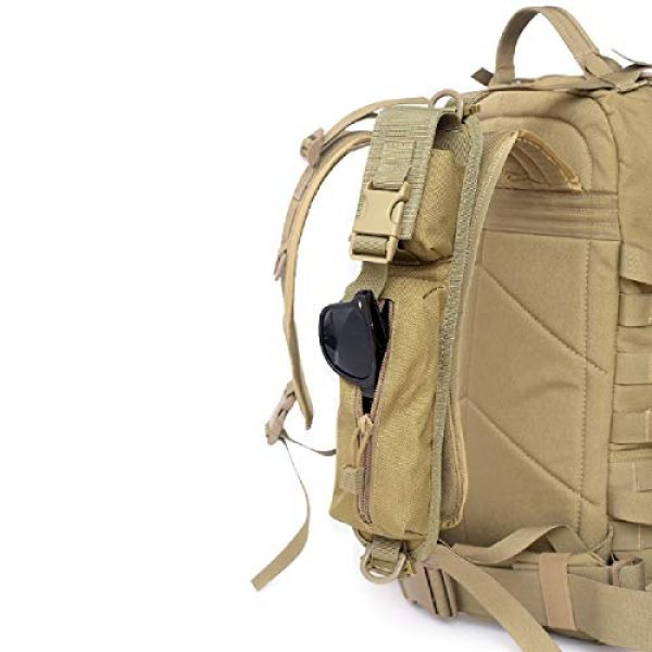 TRIWONDER Tactical Pouch 7 TRIWONDER Tactical Molle Accessory Pouch, Backpack Shoulder Strap Bag Shoulder Tape Additional Bag Multifunctional Hunting Tools Pouch
