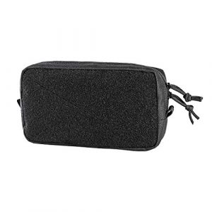 OneTigris Tactical Pouch 1 OneTigris Horizontal Multi-Purpose Pouch with Front Loop Surface and Hook-Backed Webbing