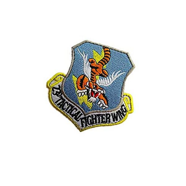 Embroidery Patch Airsoft Morale Patch 3 USAF 23rd Tactical Fighter Wing Military Tactics Morale Embroidered Patch