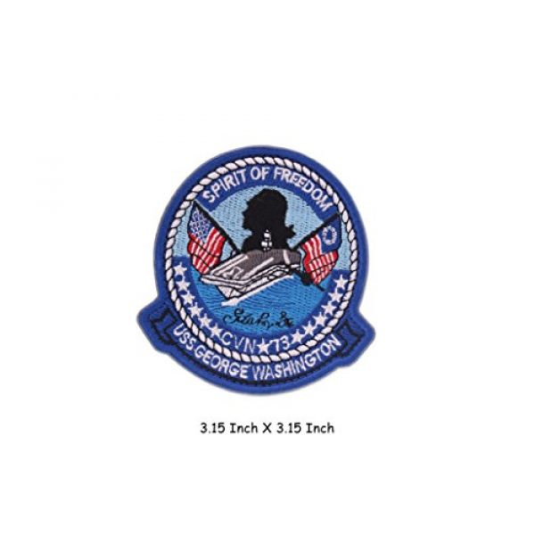 VOZUKO Airsoft Morale Patch 2 VOZUKO Morale Patch USA NASA Astronaut Space 3D Embroidered Flight Space Explorer Research Combination Badge Patch