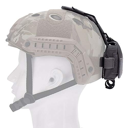 EMERSONGEAR Tactical Pouch 2 EMERSONGEAR Molle Tactical Helmet Pouch Removable Gear Pouch Tactical Fast Helmet Accessories Utility Pouch Helmet Cover Counterweight Bag, Counterbalance Weight Bag