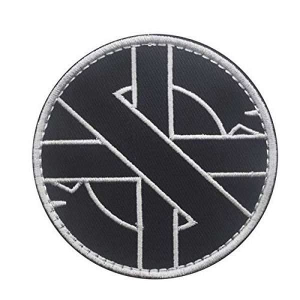 Embroidery Patch Airsoft Morale Patch 1 Viking Vegvisir Iceandic Norse Rune Embroidery Patch Military Tactical Clothing Accessory Backpack Armband Sticker Gift Patch Decorative Patch Embroidered Patch