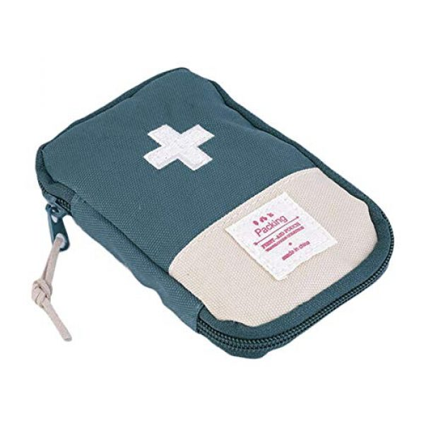bjlongyi Tactical Pouch 1 bjlongyi Portable First Aid Bag,Outdoor Camping Home Survival First Aid Kit Bag Case Pill Pouch