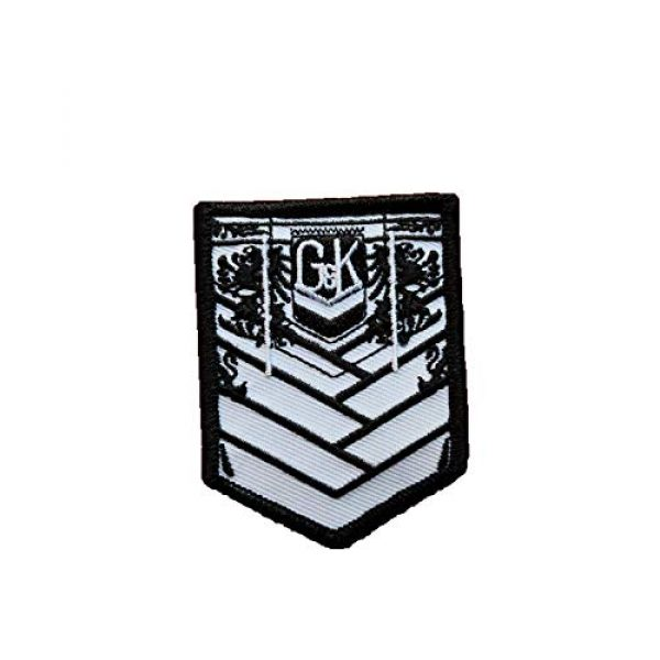 Generic Airsoft Morale Patch 1 Girls' Frontline (GFL) Griffin & Kryuger PMC Private Military Company Anime Airsoft mini Hook & Loop Tactics embroidered Morale Patch