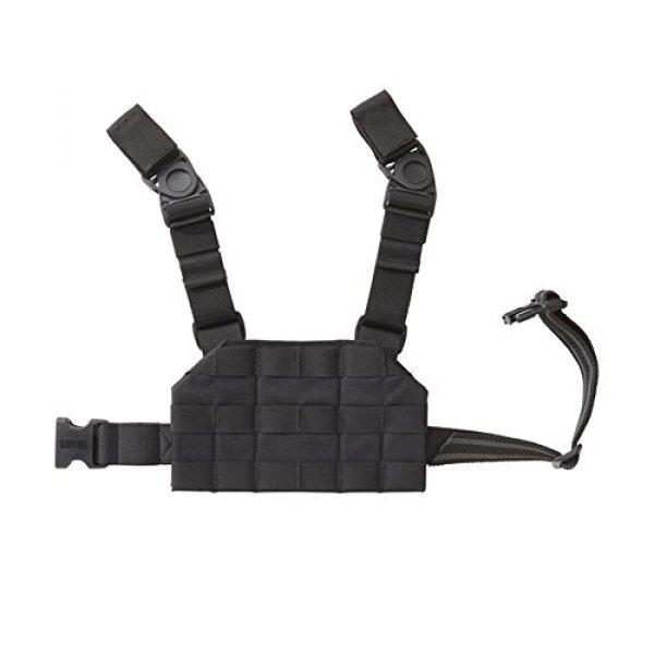 BLACKHAWK Tactical Pouch 1 Compact Strike Drop Leg Platform 3X6X4 Black