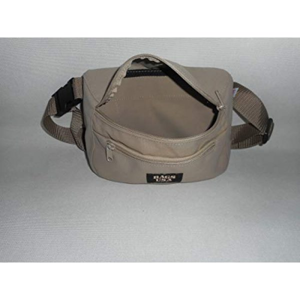 BAGS USA Tactical Pouch 5 BAGS USA Law Enforcement Fanny Pack,Gun Fanny Pack with Hidden Pocket,Made in U.s.a.