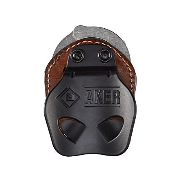 Aker Leather Tactical Pouch 3 Aker Leather Products A607-BP D.M.S. Dual Mounting Series Cuff Case