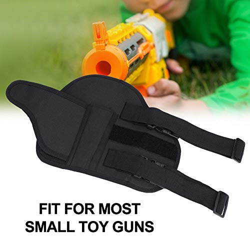 Alomejor Airsoft Holster 7 Leg Bag Kids Tactical Leg Holster Kit with Dart Pouch Toy Holster Holder for Outdoor Hiking Cycling