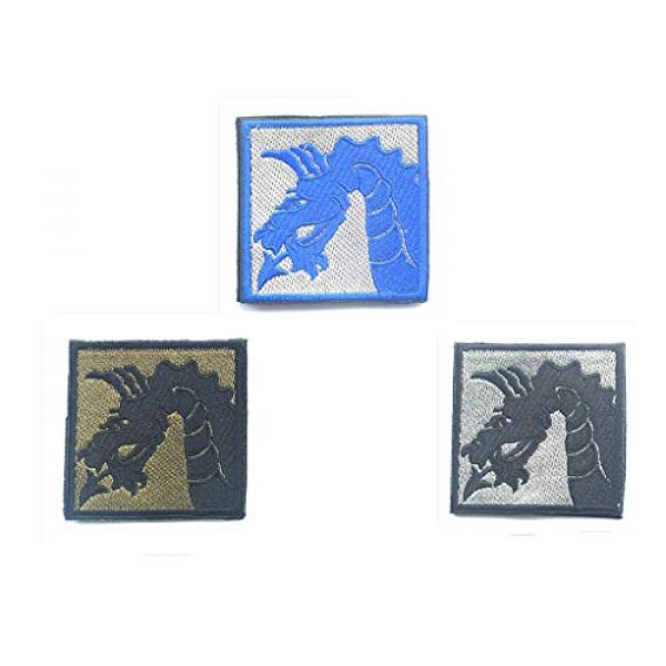 Embroidery Patch Airsoft Morale Patch 1 3 Pieces United States Army 18th US Army Airborne Corps Military Hook Loop Tactics Morale Embroidered Patch (color4)
