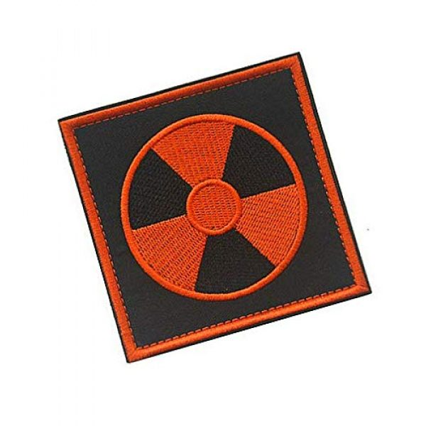 Embroidery Patch Airsoft Morale Patch 2 Stalker S.T.A.L.K.E.R. Factions Loners Atomic Power Chernobyl Military Hook Loop Tactics Morale Embroidered Patch