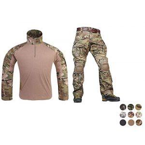 Elite Tribe Tactical Pant 1 Emerson Airsoft Military BDU Tactical Suit Combat Gen3 Uniform Shirt Pants