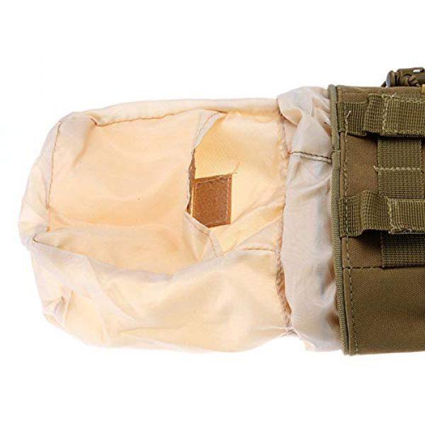 LiulingWSH Tactical Pouch 3 LiulingWSH Tactical Molle Drawstring Magazine Dump Pouch Military Utility Hunting Rifle Pouch Bag