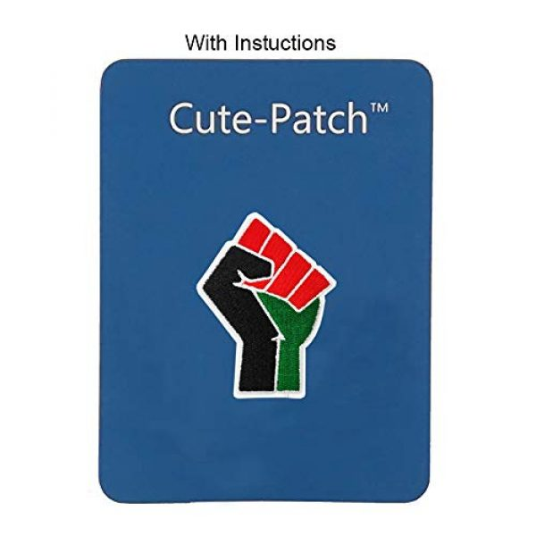Cute-Patch Airsoft Morale Patch 3 Fist Up Black Lives Matter Iron on Patch I Can't Breathe BLM Christmas Gifts
