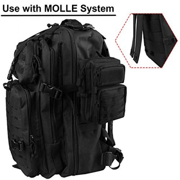 AMYIPO Tactical Pouch 7 AMYIPO MOLLE Pouch Multi-Purpose Compact Tactical Waist Bags Small Utility Pouch Mini Pocket