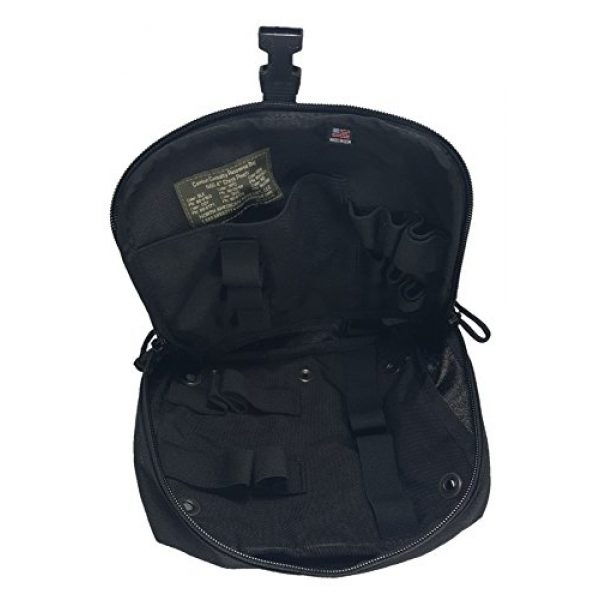 Ameratex Tactical Pouch 4 Ameratex Tactical Chest Pouch Rip Away Combat Medical Response Black