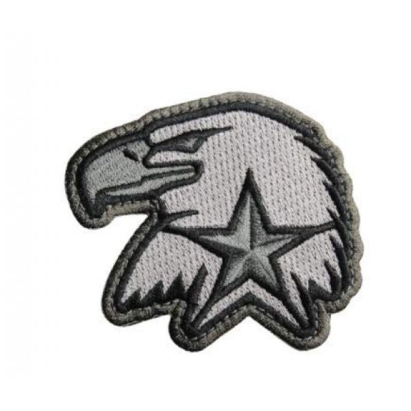Embroidered Patch Airsoft Morale Patch 1 Modern Eagle 3D Tactical Patch Military Embroidered Morale Tags Badge Embroidered Patch DIY Applique Shoulder Patch Embroidery Gift Patch