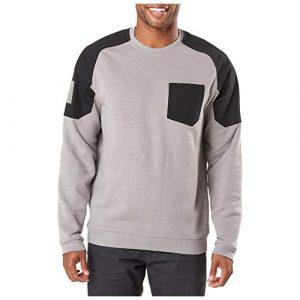 5.11 Tactical Shirt 1 5.11 Tactical Men's Radar Fleece Long Sleeve Crew Neck Performance T-Shirt, Style 72103