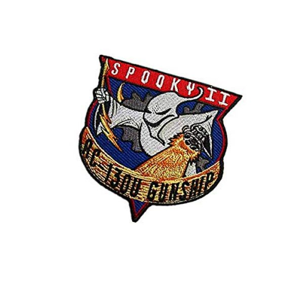 Embroidery Patch Airsoft Morale Patch 3 Air Force Special Ops Spooky II AC-130U Gunship Spectre Military Hook Loop Tactics Morale Embroidered Patch