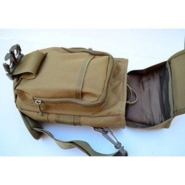 Acid Tactical Tactical Pouch 7 Acid Tactical MOLLE First Aid Bag Pouch Trauma TAN/Sand EMT Medic Utility