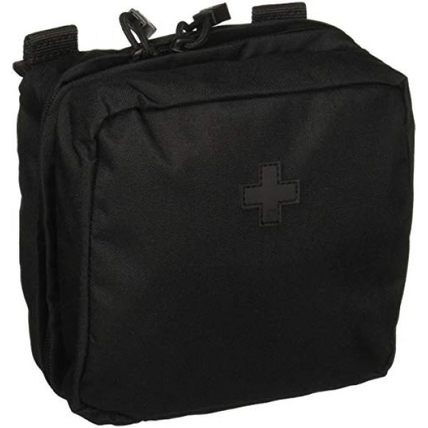 """5.11 Tactical Pouch 1 5.11 Tactical 6"""" x 6"""" Multi-Compartment Mesh Pockets Medical Pouch, YKK Zipper, Style 58715"""
