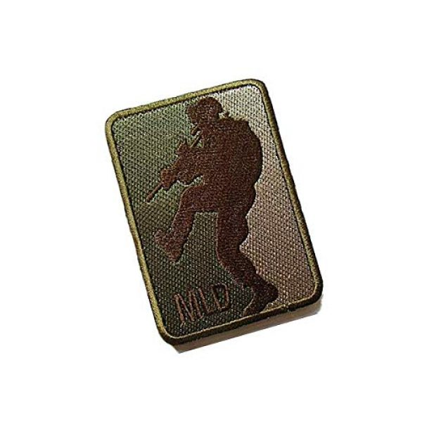 Embroidery Patch Airsoft Morale Patch 2 MLD Major League Door Kicker Military Hook Loop Tactics Morale Embroidered Patch (color4)