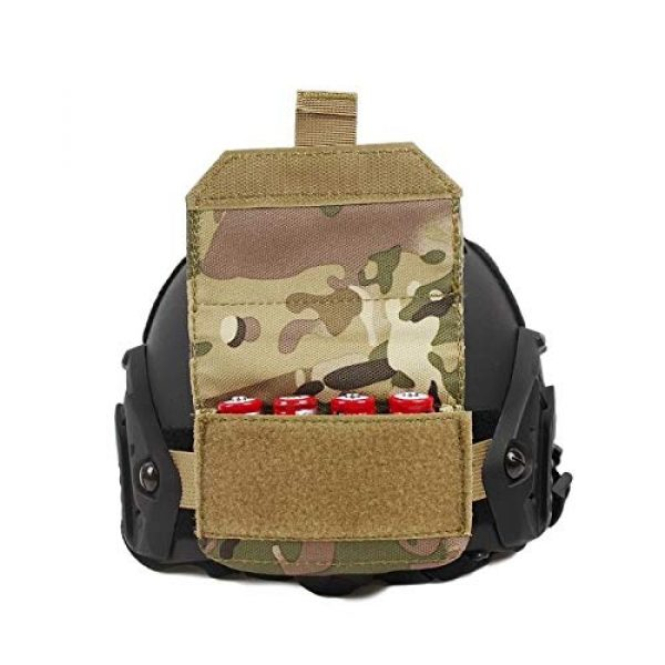 ATAIRSOFT Tactical Pouch 2 ATAIRSOFT Counterbalance Balancing Weight 500D Bag Pouch Battery Pack for Fast Airsoft Tactical Helmet Accessory