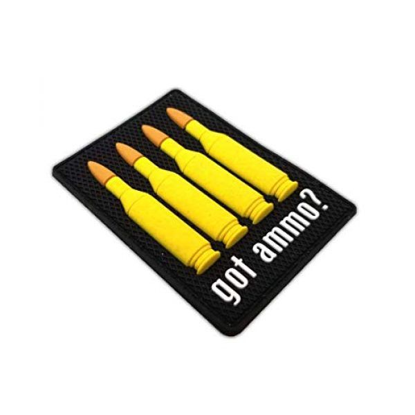 """Tactical Innovations Canada Airsoft Morale Patch 2 PVC Morale Patch - 223cal - Got Ammo 2""""x2.5"""" (3D)"""