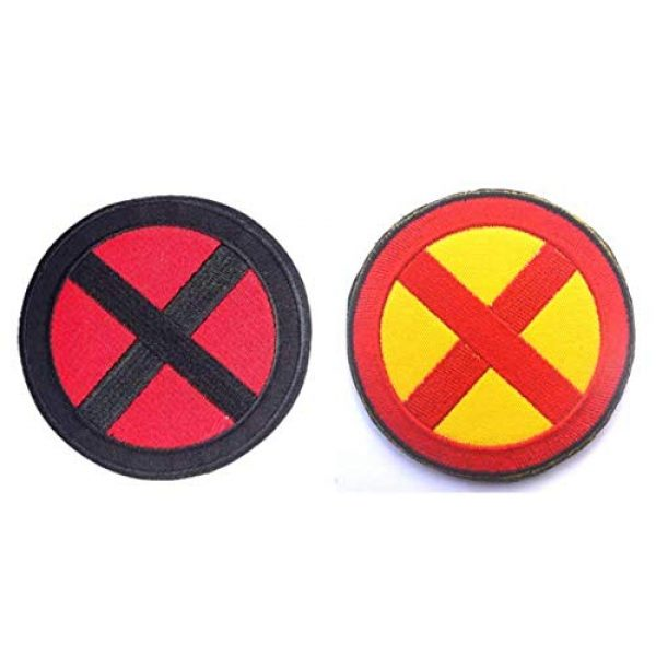"""Embroidered Patch Airsoft Morale Patch 1 2pc 2"""" Marvel Comics X-Men Wolverine Movie 3D Tactical Patch Military Embroidered Morale Tags Badge Embroidered Patch DIY Applique Shoulder Patch Embroidery Gift Patch"""