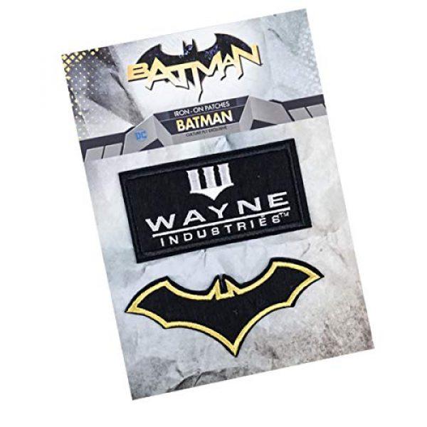 BATMAN Airsoft Morale Patch 2 Batman Emblem Patches Set for Bags, Coat, Jacket, Backpack, Ha,t Cap, Tactical Vest & More