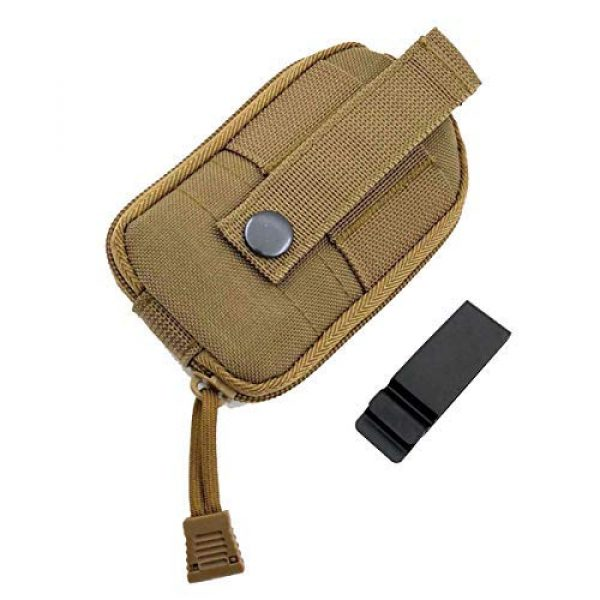 AIWAYING Tactical Pouch 2 AIWAYING Molle Dump Pouch Drawstring Spacious Folding Magazine Bag Military Holster Pack Outdoor Water Bottle Ammo Pouch