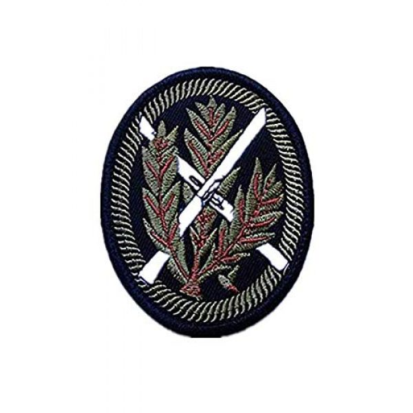 Embroidery Patch Airsoft Morale Patch 1 WWII German WH SNOWFIELD Rifleman Sniper Military Hook Loop Tactics Morale Embroidered Patch