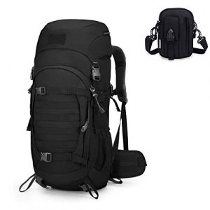 Mardingtop Tactical Backpack 1 Mardingtop Bundle Items: 50L Molle Tactical Backpack Black