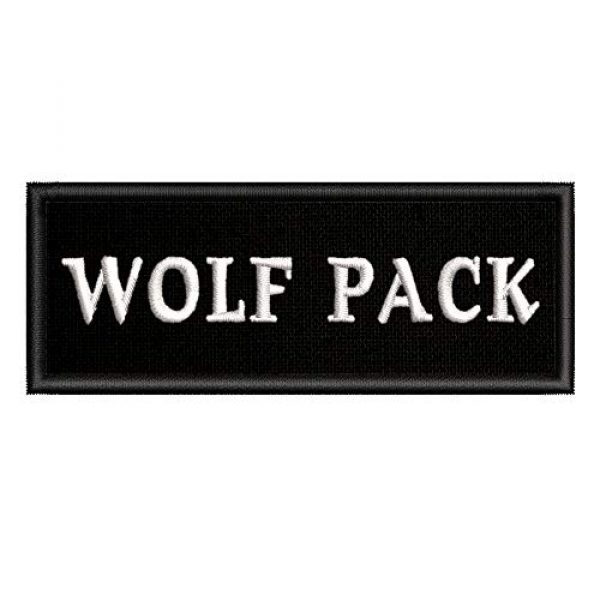 Appalachian Spirit Airsoft Morale Patch 1 Wolf Pack Tactical Saying Morale Military Tag Embroidered Premium Patch DIY Iron-on or Sew-on Decorative Badge Emblem Gear Clothes Appliques