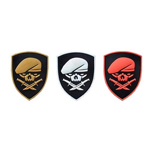 Tactical PVC Patch Airsoft Morale Patch 1 Ranger 75th Regiment AFO Delta Force Seals Medal of Honor MOH PVC Military Tactical Morale Patch Badges Emblem Applique Hook Patches for Clothes Backpack Accessories