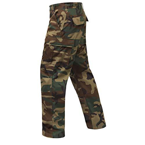 Rothco Tactical Pant 2 Camo Tactical BDU (Battle Dress Uniform) Military Cargo Pants